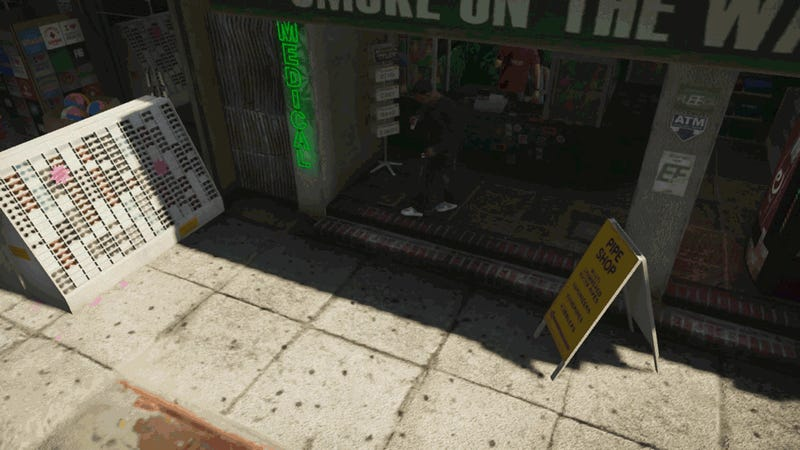 Can You Smoke Pot in Grand Theft Auto V?