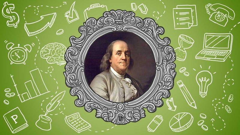 Benjamin Franklin's Best Productivity Tricks