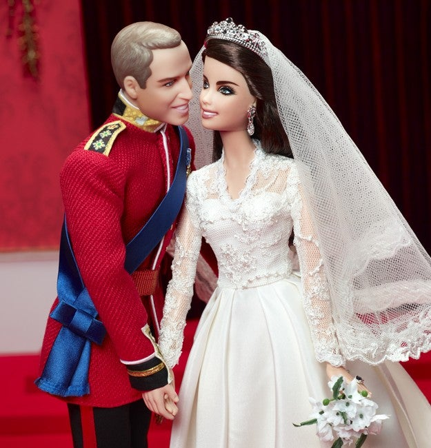 The Royal Wedding Barbie You Didn't Even Know You Needed