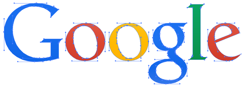 Logo antiga do Google