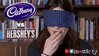 Can You Taste the Difference Between Banned U.K. Cadbury and Hershey's?