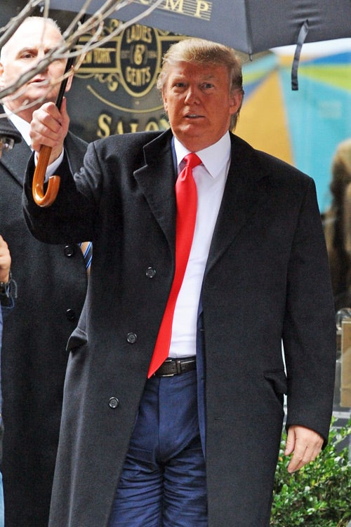 Donald Trump's Distracting Boner Cut Out of Wall Street 2
