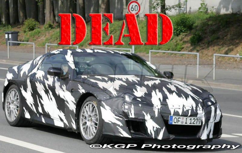 Acura NSX Canceled Due To Carpocalypse