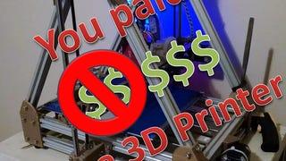 So You Bought a 3D Printer