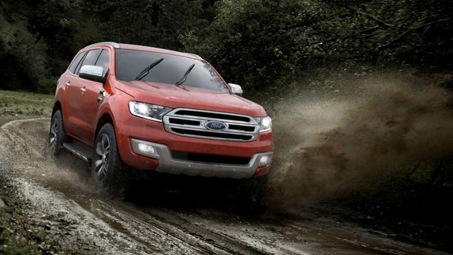 2015 Ford Everest Is A Modern Mall-Crawler That Can Seriously Off-Road