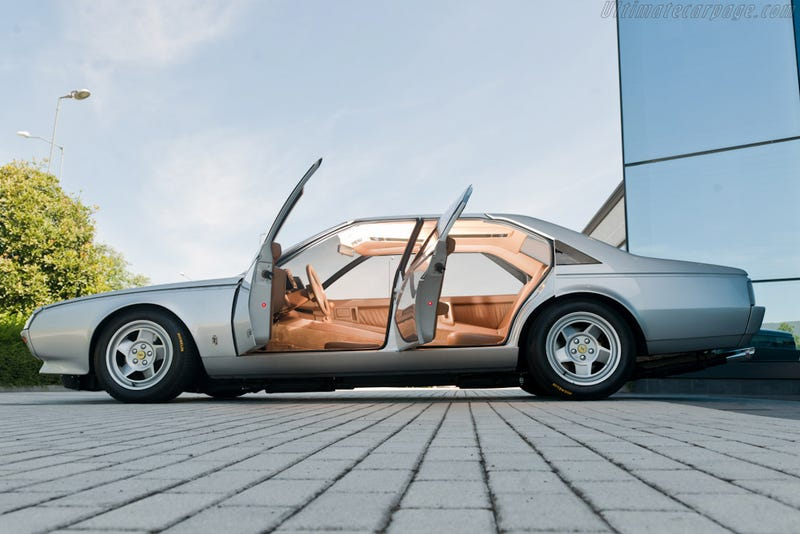 This is the first 4doors Ferrari ever... And you can buy it now!