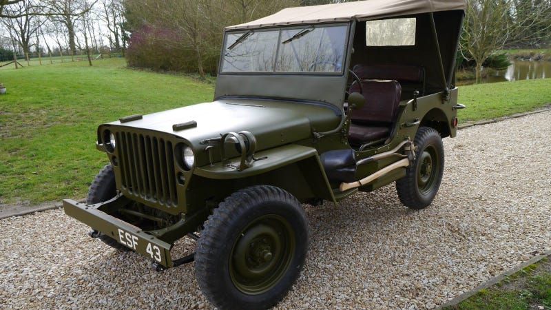 Eisenhower's WWII Willys Is Intact, And Might Be The Prettiest Jeep Ever