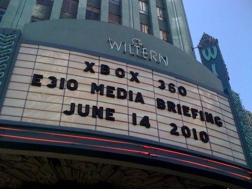 Xbox 360 At E3 2010 Live! [UPDATE]