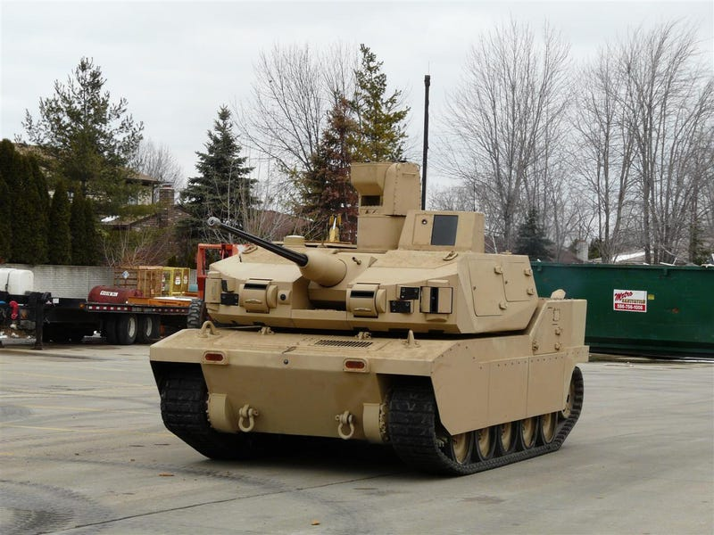 Jalopnik Drives Real Live Tank By Remote Control, Can Now Die Happy
