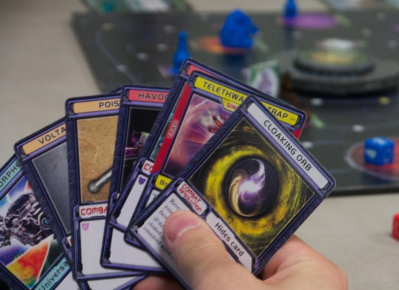 Chaosmos board game keeps you on the edge of cosmic catastrophe