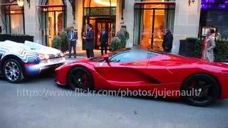 Bugatti on LaFerrari violence