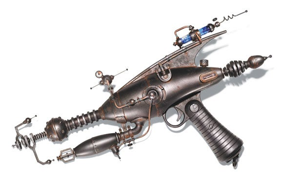 Steampunk Ray Guns
