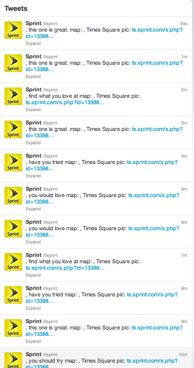 Hey Sprint, You Okay?