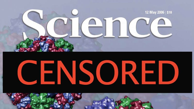 Why is the U.S. government trying to control the contents of scientific journals?