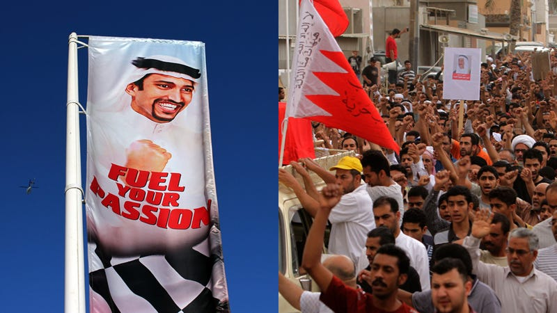 Formula 1 sides with Bahrain's money over its people's freedom
