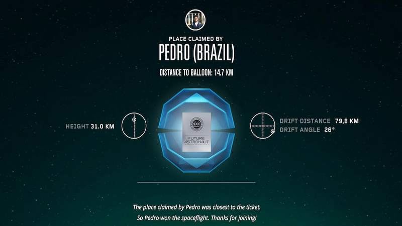 Pedro Guessed How High A Balloon Could Fly, So He Gets To Go To Space Next Year