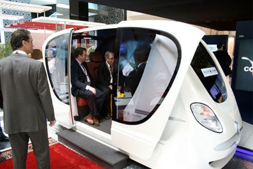 Driverless, Electricity-Run Taxis Will Dominate UAE Eco-City