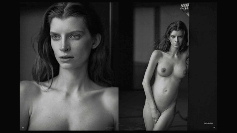 German Vogue Shows Supermodels Without Photoshop [NSFW]