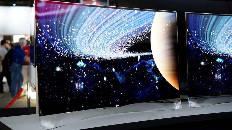 La última locura de la electrónica: televisores OLED, curvados y gigantescos