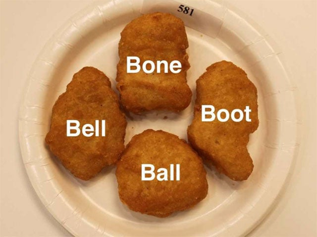 Four Official Shapes Change Eating Chicken McNuggets Forever