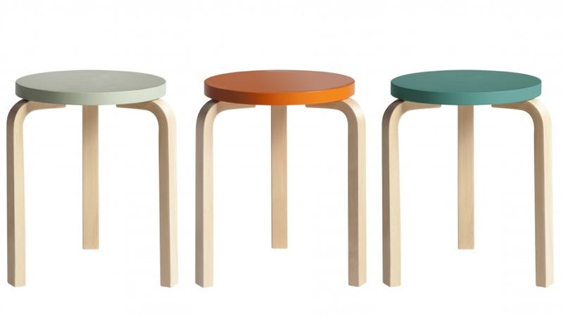 Classic Artek Stool Gets 80th Birthday Reissue