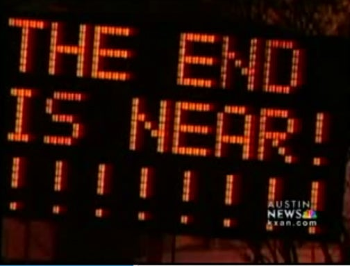 Austin,TX Overrun By Zombie Jokes, Hacked Electronic Road Signs