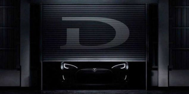 Tesla's AWD Model D Obeys Speed Signs and Changes Lanes By Itself