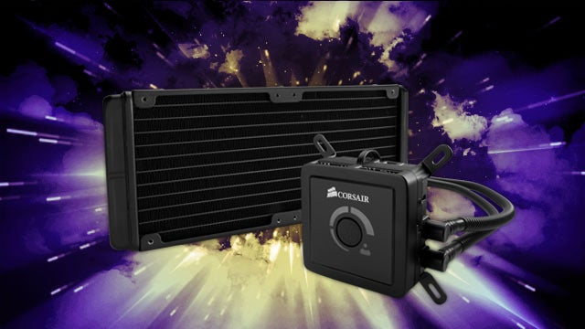 The Corsair Hydro Series Keeps Your PC Cool and Silent with Maintenance-Free Water Cooling
