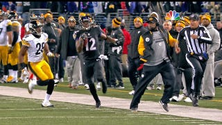 Mike Tomlin Steps Onto Field, Prevents Jacoby Jones From Scoring TD