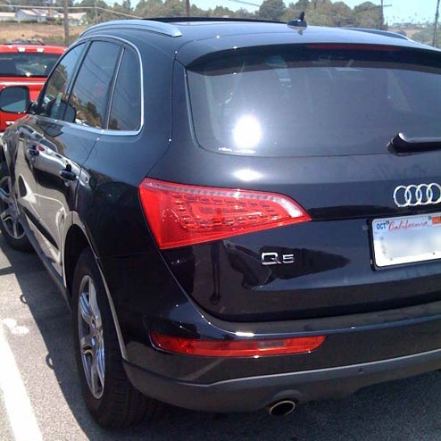 Audi Q5 Spied Enjoying The Sights And Sounds Of Malibu