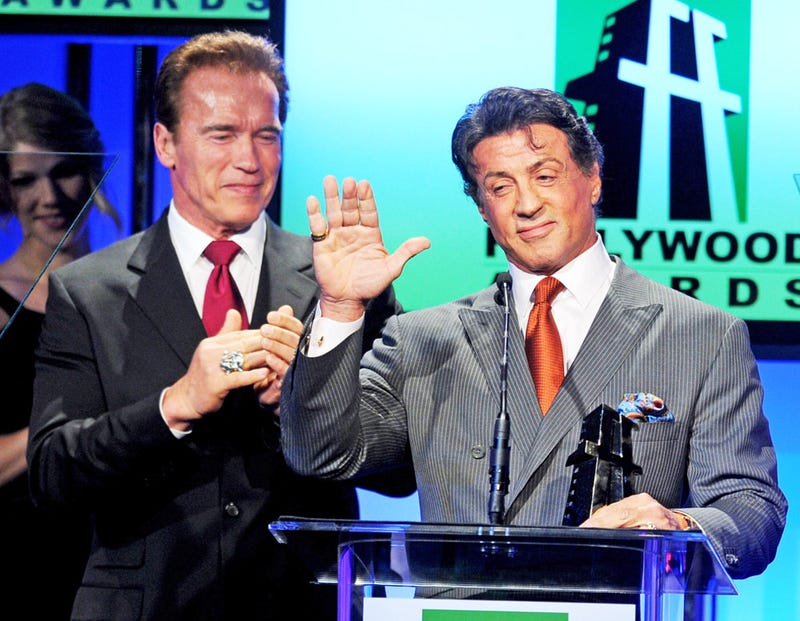 What We'll Miss About Schwarzenegger: Fancy Jewelry