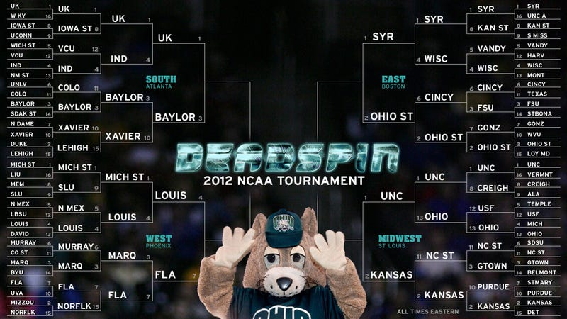 Your NCAA Tournament Open Thread: The Sweet Sixteen