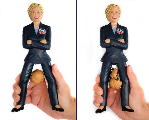 Hillary Clinton Nutcracker Teaches Those Republican Nuts a Lesson