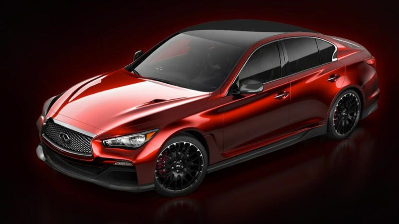 Infiniti Q50 Eau Rouge Concept Is A Sedan With An Unpronounceable Name
