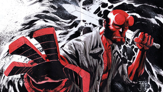 Buy This One-Of-A-Kind Hellboy Art, And Support Comics Creators In Need