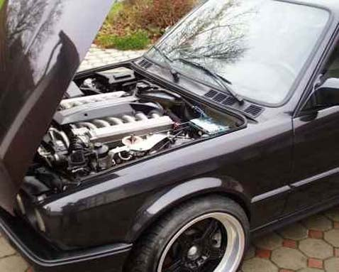 Engine Swap of the Day: V12 In BMW 3-Series