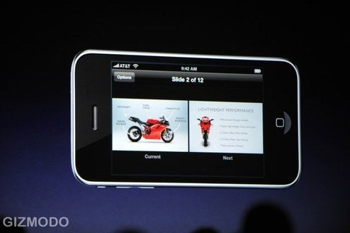 Keynote Remote for iPhone Will Make Corporate Drones Horny