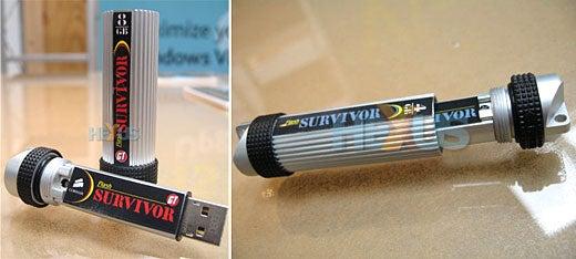 Corsair Flash Survivor USB Drives Can Go Through a War Unscathed