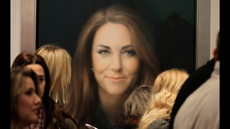 Kate Middleton's First Official Portrait Unveiled; Public Gasps in Horror