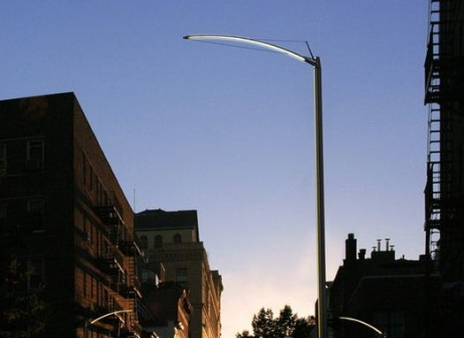 NYC Testing Out Beautiful LED Streetlights