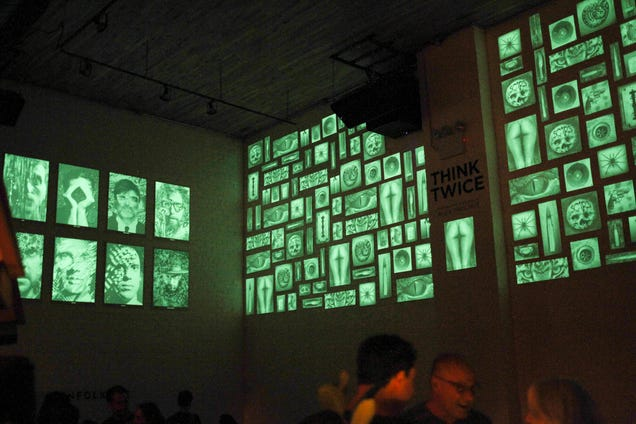 Watch The Art In this Gallery Transform When The Lights Go Out