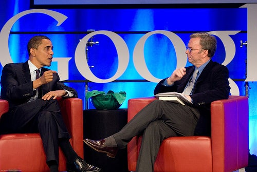 Google Execs Pay $150,000 for Obama Bash