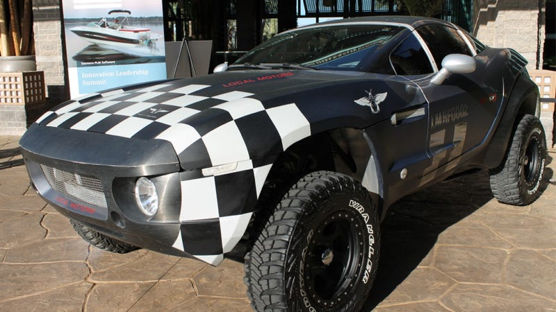 Local Motors Is Building A Rally Fighter With A Crazy 600 Horsepower