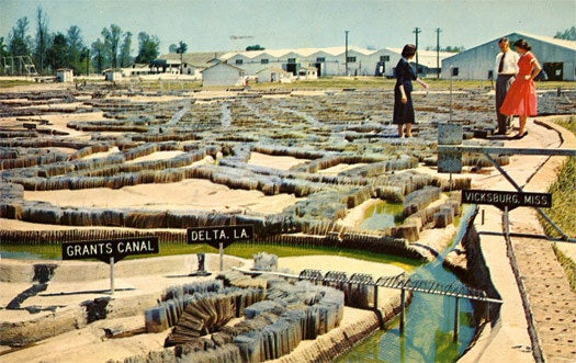 When the U.S. Army Corps of Engineers created a 200-acre, scale model of the Mississippi River Basin