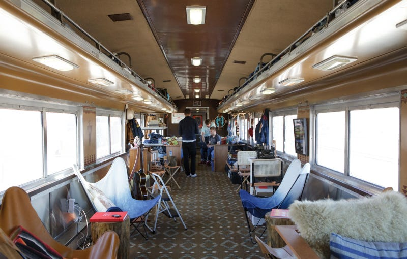 Tour the Art Train That Traveled from New York to Oakland