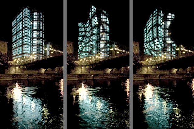 These Buildings Have Animated Screens Instead of Walls