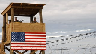 The U.S. tries to pay Cuba about $4,000 a year to lease Guantanamo Bay