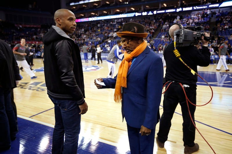 """Incredibly British Recap Of Knicks-Pistons Game In London Frets About """"Jaunty Accordion Music"""" Playing Over The P.A."""