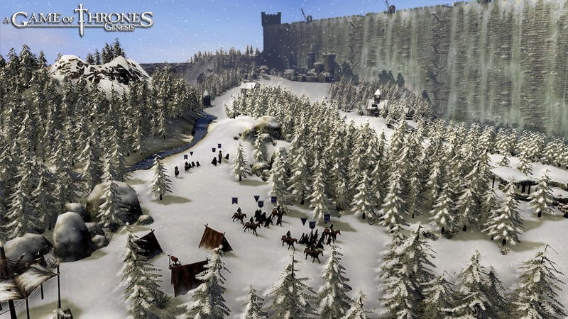 Winter is Coming in these Game of Thrones: Genesis Screens