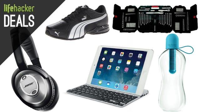 Deals: Custom Bluetooth Speaker, Puma Shoes, iPad Keyboard, Logitech